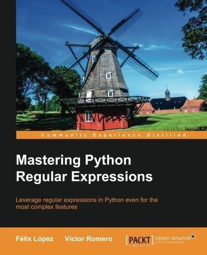 9789351105503: Mastering Python Regular Expressions