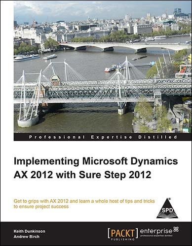 9789351105640: Implementing Microsoft Dynamics AX 2012 with Sure Step