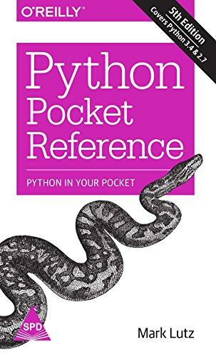 9789351106302: Python Pocket Reference
