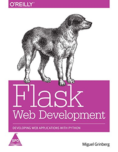 9789351106449: Flask Web Development