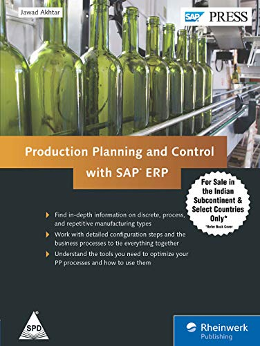 9789351107323: Production Planning and Control with SAP ERP