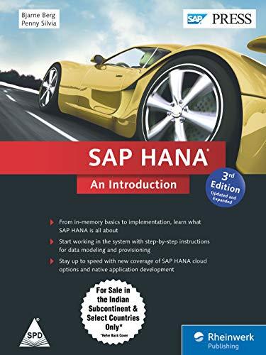 9789351108238: SAP HANA: An Introduction