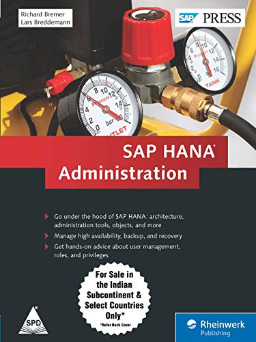 9789351108245: SAP HANA Administration