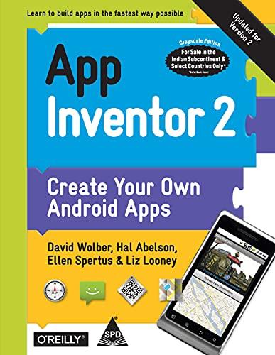 9789351108603: App Inventor