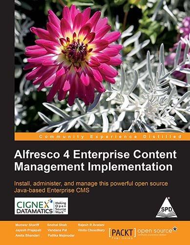 9789351108726: Alfresco 4 Enterprise Content Management Implementation