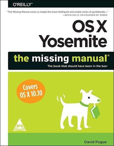 9789351109334: OS X Yosemite: The Missing Manual