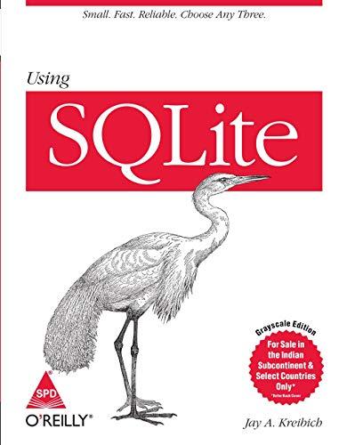 9789351109341: Using SQLite
