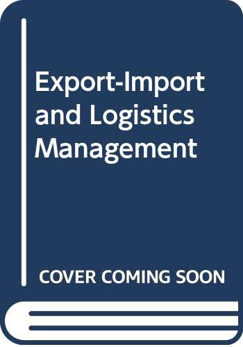 Export- Import and Logistics Management-: Charlie Hill