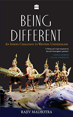 Being Different : An Different Challenge To: Malhotra, Rajiv