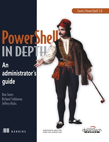 9789351191537: An Administrator's Guide: Powershell in Depth (Manning)