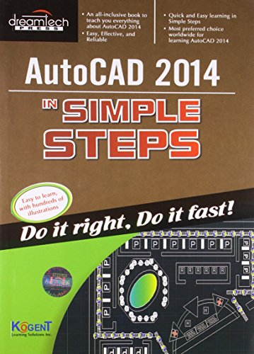 Autocad 2014 In Simple Steps: Kogent Learning Solutions