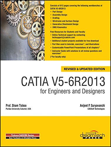 9789351194408: Catia V5-6R2013 for Engineers and Designers