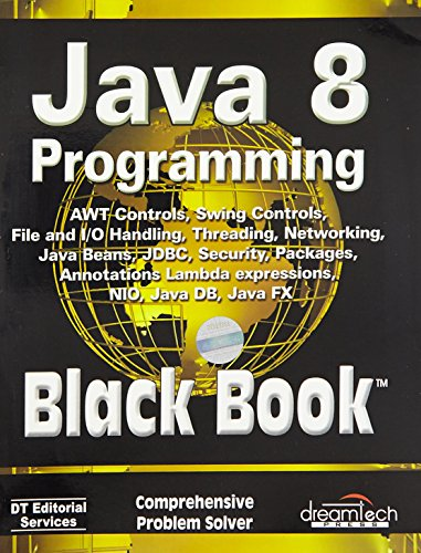 9789351197584: Java 8 Programming: Black Book