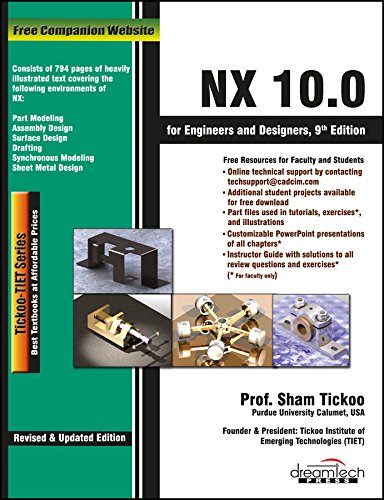 9789351199298: Nx 10.0 For Engineers And Designers, 9Ed