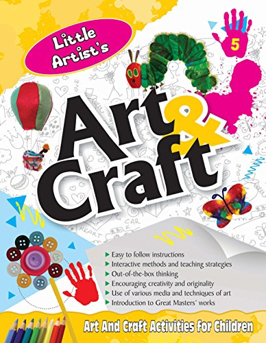 Little Artist's Art And Craft 5: Art: India, BPI