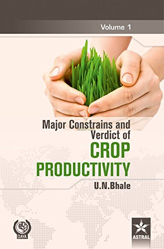 Major Constrains and Verdict of Crop Productivity,: U.N. Bhale
