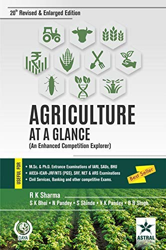 9789351246206: Agriculture At A Glance Revised Edition (An Enhanced Competition Explorer) PB