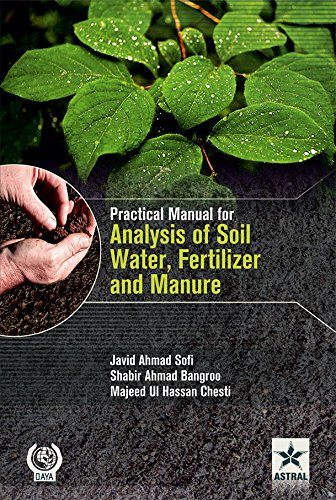 9789351247791: Practical Manual for Analysis of Soil, Water, Fertilizer and Manure