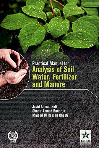 Practical Manual for Analysis of Soil, Water,: Javid Ahmad Sofi,