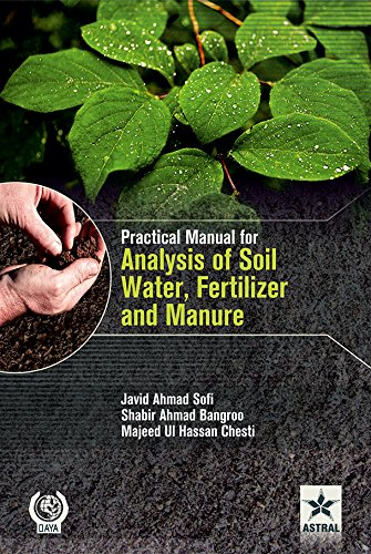 9789351247807: Practical Manual for Analysis of Soil, Water, Fertilizer and Manure (PB)