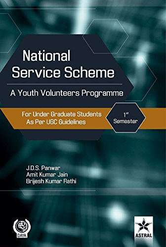 National Service Scheme: a Youth Volunteers Programme: J.D.S. Panwar &