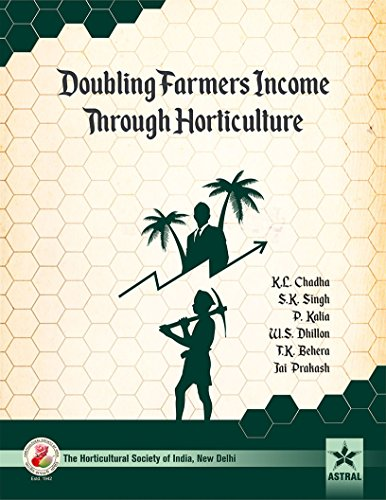 Doubling Farmers Income Through Horticulture: Chadha, K L