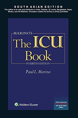 9789351291305: Marino's the ICU Book:(icu Book (Marino)) [Paperback]