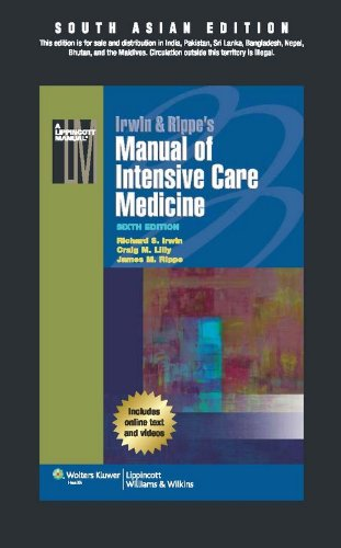 9789351291480: Irwin & Rippe's Manual of Intensive Care Medicine