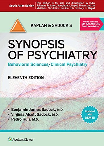 9789351292739: Kaplan and Sadock's Synopsis of Psychiatry: Behavioral Sciences/Clinical Psychiatry