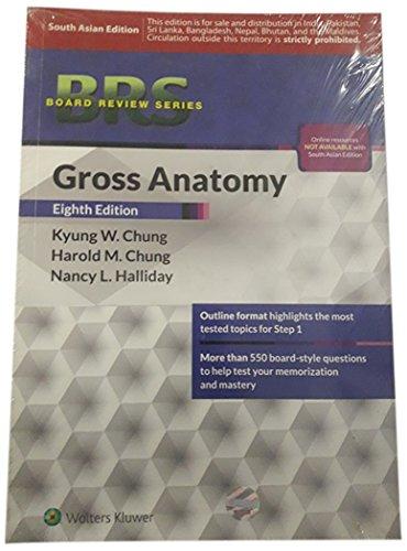 9789351295952 Brs Gross Anatomy Abebooks Chung K W 9351295958