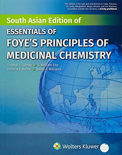 9789351296683: Essentials Of Foyes Principles Of Medicinal Chemistry (Pb 2017)