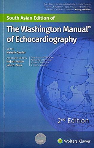 9789351297598: THE WASHINGTON MANUAL OF ECHOCARDIOGRAPHY [Paperback]