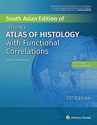 9789351297932: diFiore's Atlas of Histology with Functional Correlations (13th Edition)