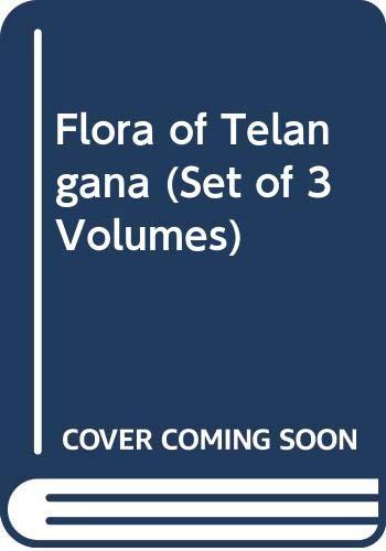 9789351305460: Flora of Telangana (Set of 3 Volumes)