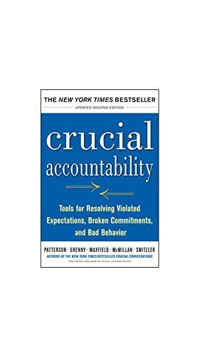 9789351340010: Crucial Accountability : Tools for Resolving Violated Expectations, Broken Commitments, and Bad Behavior