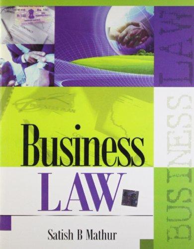 Business Law: Satish B. Mathur