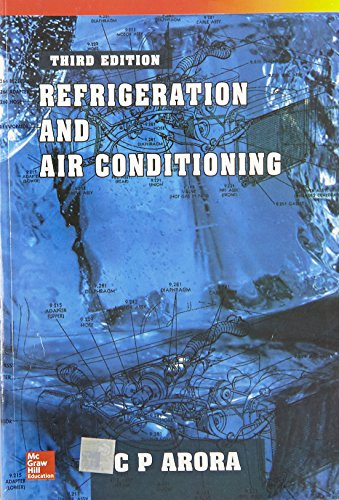 Refrigeration And Air Conditioning Book By Manohar Prasad