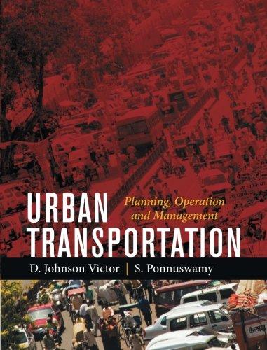 9789351342526: Urban Transportation: Planning, Operation and Management