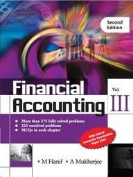9789351342694: Financial Accounting (Vol. 3)