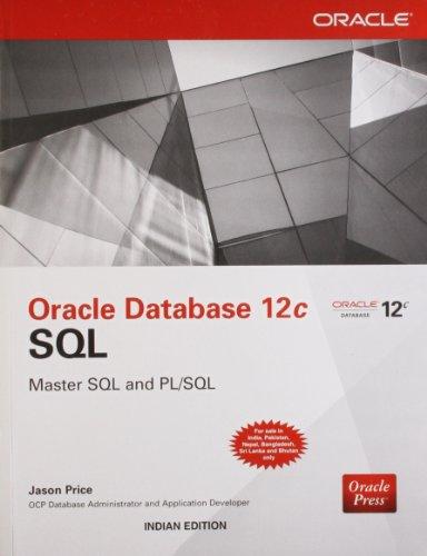 9789351342861: ORACLE DATABASE 12C SQL
