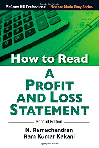 How To Read Profit And Loss Statement: Kakani Ramchandran