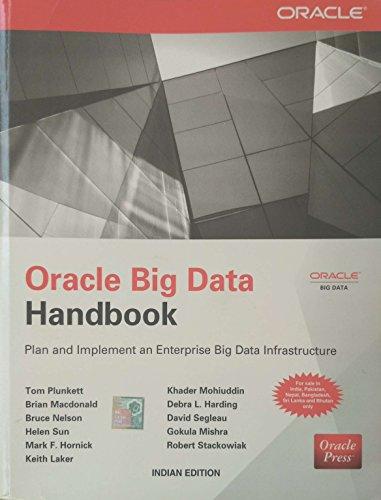 9789351343158: The Oracle Big Data Handbook