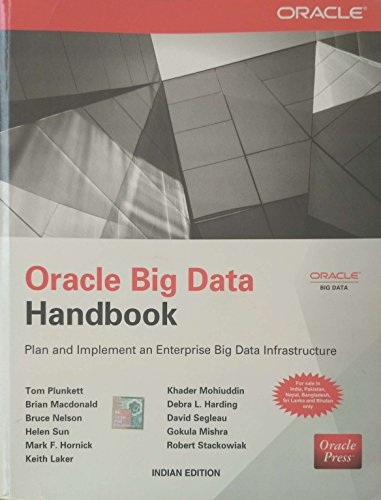 9789351343158: Oracle Big Data Handbook : Plan and Implement an Enterprise Big Data Infrastructure 1st Edition