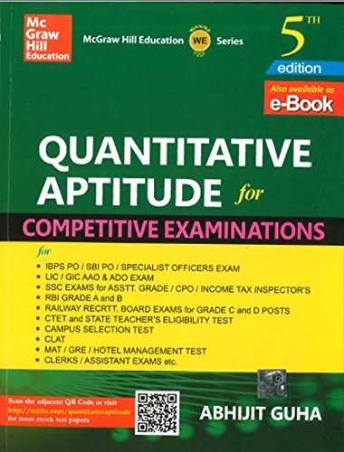 QUANTITATIVE APTITUDE FOR COMPETITIVE EXAM 5TH EDITION: ABHIJIT GUHA