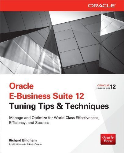 9789351344759: Oracle E-Business Suite 12 Tuning Tips & Techniques