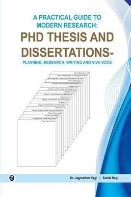 A Practical Guide to Modern Research:PDH Thesis: Dr Jag Mohan