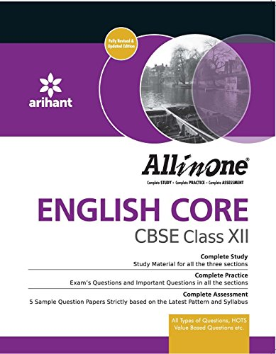9789351411307: CBSE All in One ENGLISH CORE Class 12th