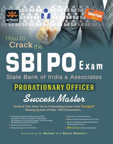 9789351415213: SBI PO Exam: Probationary Officer Success Master