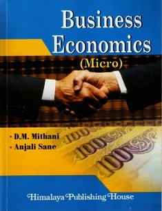Business Economics (Micro): Mithani & Sane