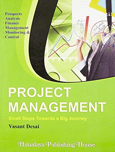 Project Management: Desai, Vasant
